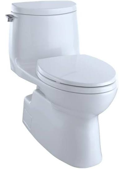TOTO Carlyle® II 1G One-Piece Skirted Toilet, 1.0 GPF, Elongated