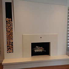 Pyramid Home - Fireplace